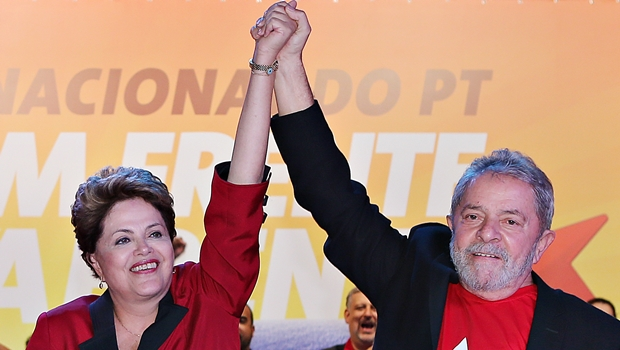 Presidente Dilma Rousseff e Lula: governos do PT pagaram mais de 350 mil reais a jornais inexistentes