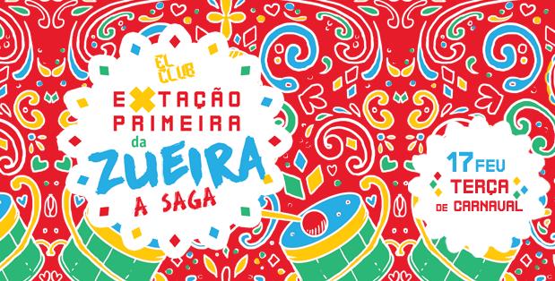 Com marchinhas e axé, El Club realiza carnaval de rua no Cepal do Setor Sul