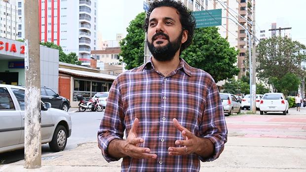 """Fernando Chapadeiro: """"O carro não pode mais ser a prioridade nas cidades"""" / Foto: Fernando Leite/Jornal Opção"""