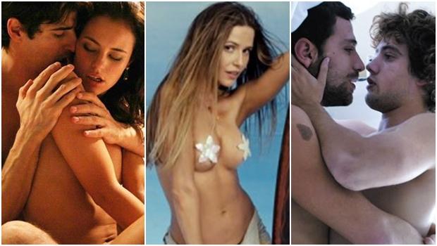 Cenas dos filmes Entre Lençóis, Bruna Surfistinha e Do Começo ao Fim: cenas de sexo impressionam | Fotos: reprodução / vídeos