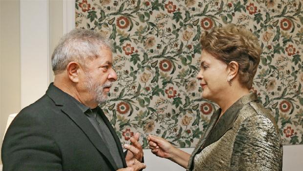 """Com baixa popularidade, presidente Dilma Rousseff percebeu que uma visita ao """"criador"""" Lula era inevitável  Foto: Ricardo Stuckert/ Instituto Lula"""