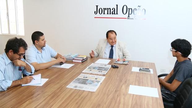 """Zander Campos em entrevista aos jornalistas do Jornal Opção:""""Falta ao Brasil a inovação que existe no governo Marconi"""""""