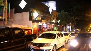 Alteração na Rua 147, no Setor Marista, foi para conservar estacionamentos   / Foto: Fernando Leite
