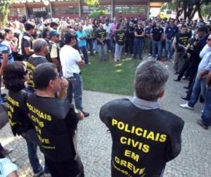 Greve na Polícia CIvila divide categoria, no Tocantins   Foto: Divulgação/Sinpol