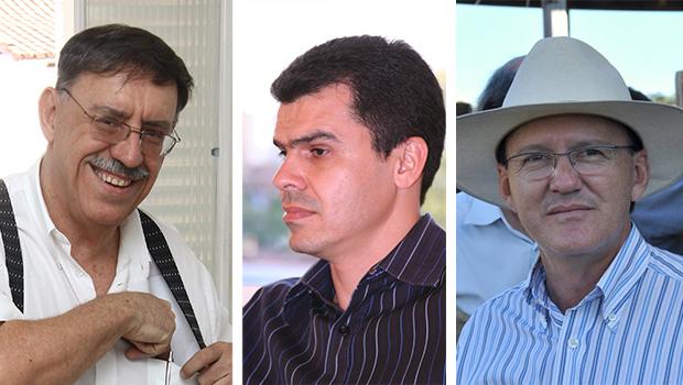 Mário Rodrigues, Gean Carvalho e Bráulio Morais: chances de Jayme Rincón ser eleito prefeito de Goiânia são altas