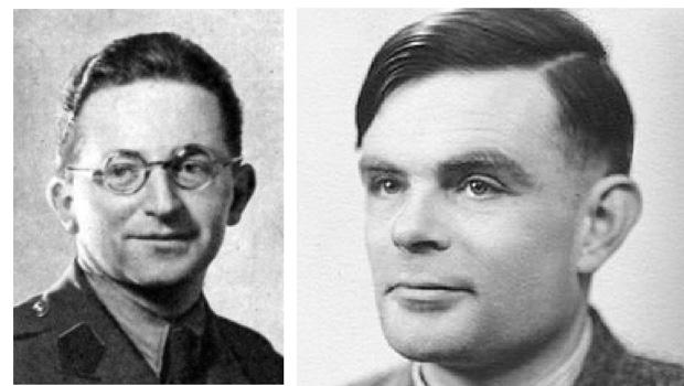 Marian Rejewski: o matemático contribuiu para decifrar os segredos da máquina Enigma Alan Turing: o matemático inglês é a prova que o indivíduo faz e ajuda a mudar  a história de seu tempo. Condenado por ser homossexual, optou por se matar