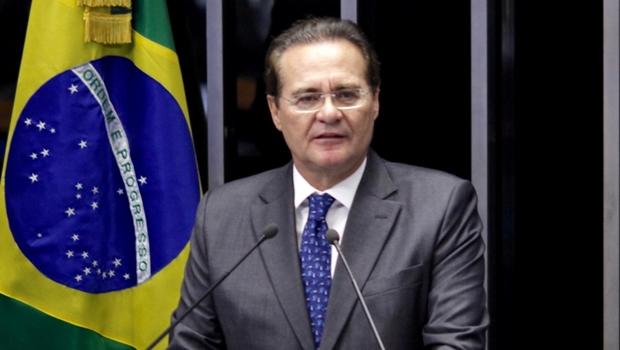 Renan Calheiros é eleito presidente do Senado pela quarta vez