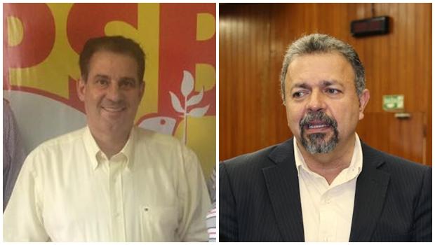 Vanderlan fica no PSB, garante Elias Vaz | Fotos: reprodução / Câmara Goiânia