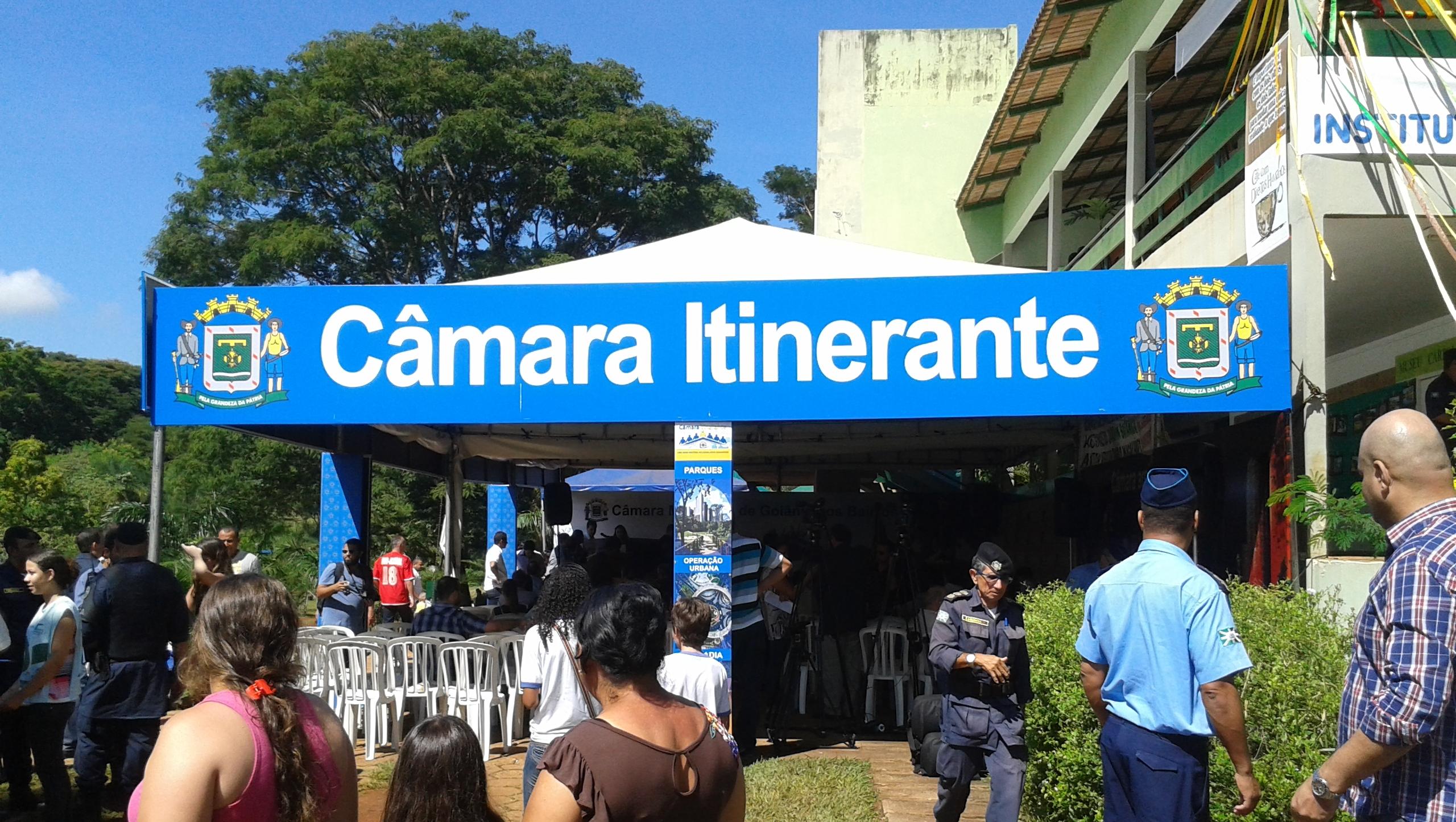 Vereadores de Goiânia realizam primeira edição da Câmara Itinerante no Jardim Botânico
