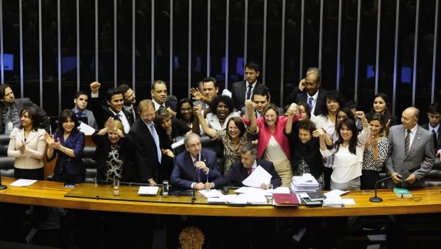 Votação da PL 8305/2014 que incluir o feminicídio no rol dos crimes hediondos | Foto: Gustavo Lima/ Câmara dos Deputados