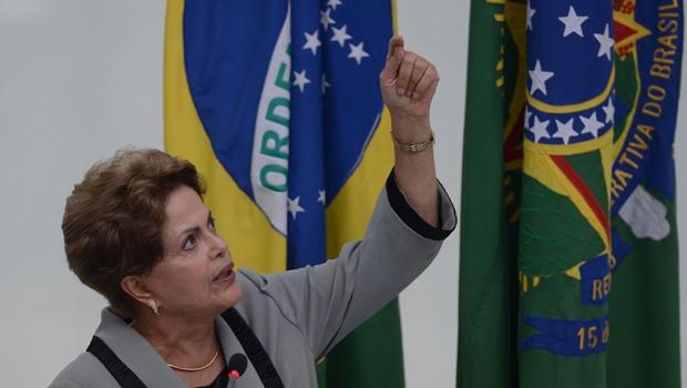 Dilma nas alturas: reprovação recorde no Centro-Oeste | Foto: José Cruz / ABr