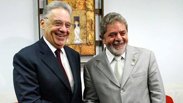 Lula, o sapo, e FHC, o príncipe: ambos expressões da mesma mágica   Foto: Ricardo Stuckert / PR