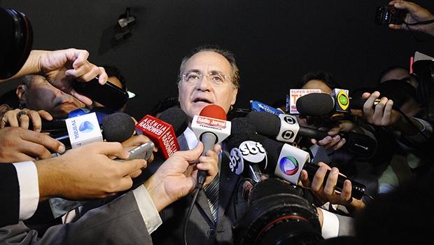 Senador Renan Calheiros, presidente do Congresso: mágoa pessoal com a presidente Dilma Rousseff | Foto: Waldemir Barreto/ Agência Senado