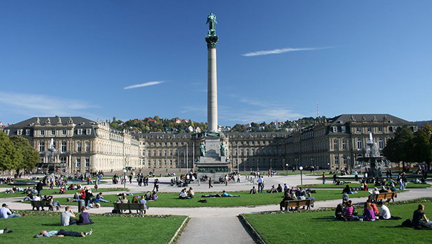Stuttgart, a cidade berço do marxismo-leninismo é um desmentido cabal da teoria comunista como solução | Foto: Wikiédia Commons