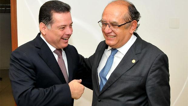 Em Goiânia, Marconi pede apoio de ministro do STF para criação do Fundo Nacional de Segurança