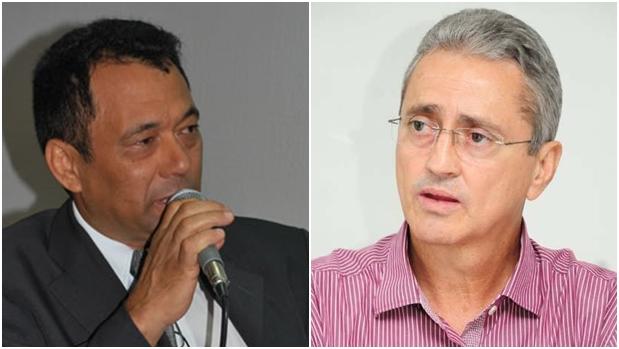 Rixa entre Moura (esquerda) e Ozair divide PT em Aparecida | Fotos: Reprodução/Site da Câmara Municipal de Aparecida e Facebook