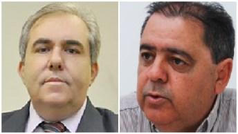 """Rogério Troncoso e Joaquim Guilherme: Morrinhos é uma cidade quase """"pequena"""" para os dois adversários, quase inimigos"""
