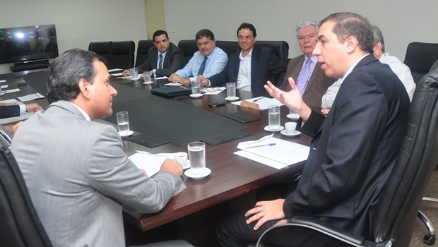 Igor Montenegro e José Eliton se reúnem no PPLT | Foto: Jayr Inácio
