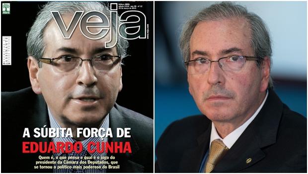 Veja se comporta como office-boy de Eduardo Cunha. É um mau passo de uma grande revista