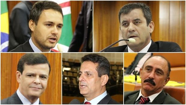 Vereadores do PMDB não estariam sendo convidados para os eventos do partido | Fotos: Câmara Municipal de Goiânia