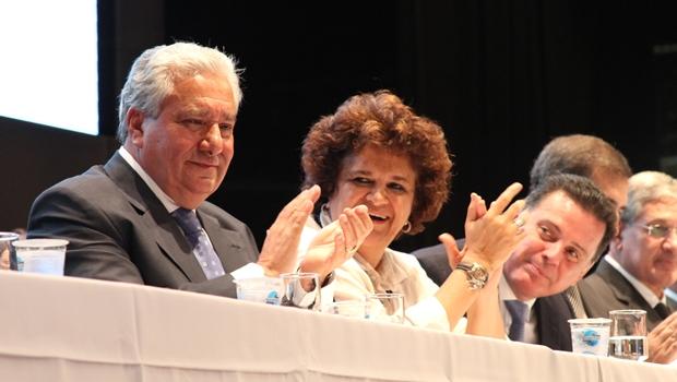 Titular da Secima, ministra do Meio Ambiente e governador lançam Plano Estadual de Recursos Hídricos | Foto: Wagnas Cabral