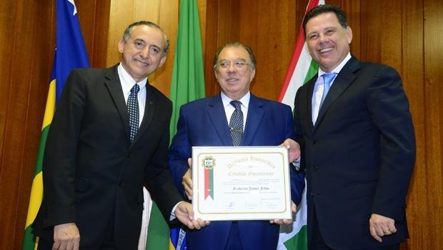 Frederico Jayme recebe título de cidadão goianiense