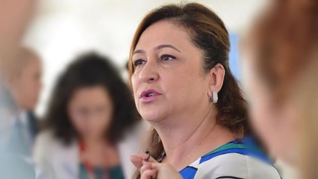 A ministra da Agricultura, Kátia Abreu, anuncia que o Matopiba será instituído na próxima semana | Foto: José Cruz / Agência Brasil