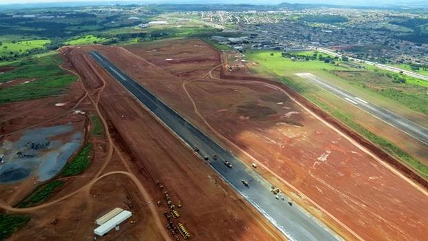 Aeroporto de cargas de Anápolis será um dos maiores do País; gestão do modal deverá ser da iniciativa privada  | Foto: Fernando Leite/Jornal Opção