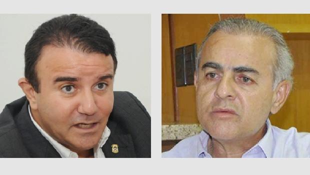 Deputados Eduardo Siqueira Campos e Paulo Mourão: o embate que será cada vez mais frequente   Fernando Leite/Jornal Opção   Divulgação