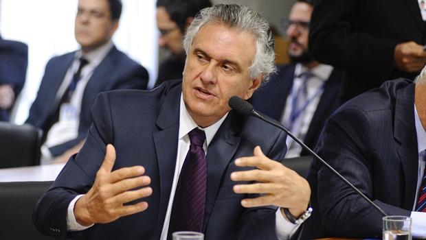 Caiado no Senado   Foto: Pedro França / Agência Senado