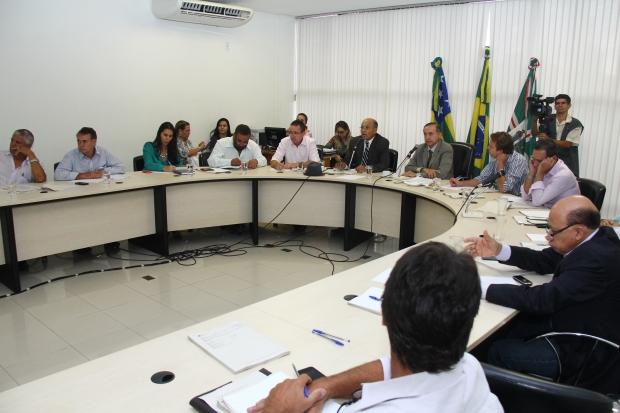 Apenas dois aliados de Paulo Garcia estiveram em reunião | Foto: Fernando Leite