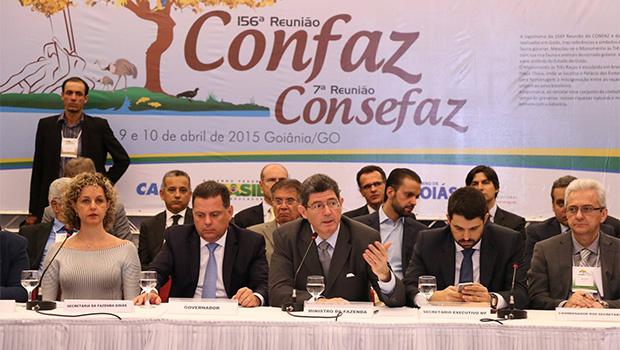 """""""União não vai virar as costas para os Estados"""", diz Joaquim Levy em discurso sobre ICMS"""