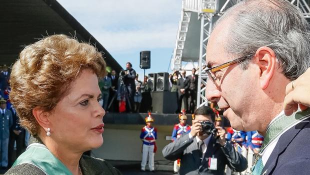 Folha: Dilma cede e convida Cunha para jantar. Na pauta, terceirização e até dietas