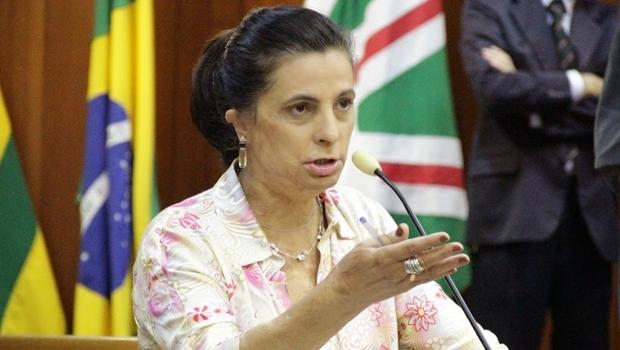 Vereadora Dra. Cristina na Câmara de Goiânia | Foto: Alberto Maia