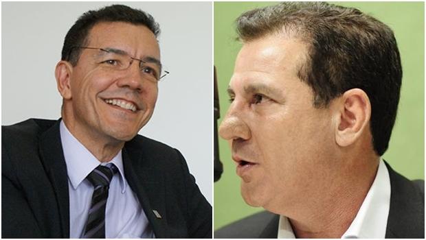 Edward Madureira (PT) e Vanderlan Cardoso (PSB) abrem diálogo | Fotos: reprodução / Facebook