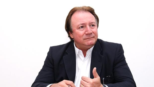 Júnior Friboi: luta contra expulsão para reorganizar o PMDB para as disputas eleitorais de 2016 e 2018 | Foto: Fernando Leite/Jornal Opção