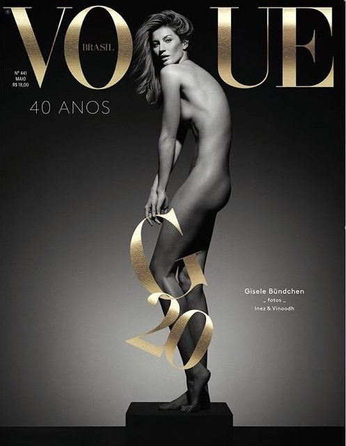 Capa da revista Vogue