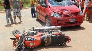 """""""O trauma ocupa o maior porcentual de atendimento no crer, principalmente por acidentes de moto,  com fraturas graves"""""""