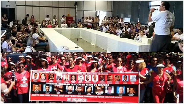 Caos em Goiânia: servidores da  Saúde e da Educação entram em greve