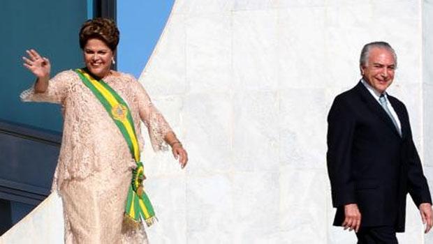 Presidente Dilma Rousseff e vice-presidente Michel Temer / Foto: Lula Marques / Fotos Públicas