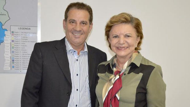Vanderlan Cardoso e Lúcia Vânia, que deve se filiar ao PSB até o fim deste mês / Foto: Facebook