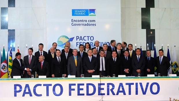 Calheiros e Cunha recebem governadores para debater pacto federativo
