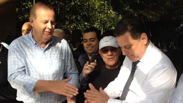 Marconi Perillo e Paulo Garcia anunciam projeto de corredor cultural na Avenida Tocantins