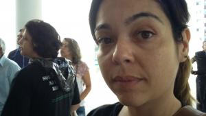 Professora Ana Flávia | Foto: Sarah Teófilo