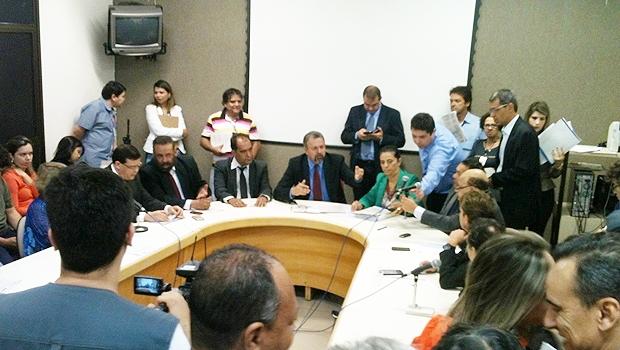 Vereadores da CCJ: pela aprovação da reforma   Foto: Marcello Dantas / Jornal Opção