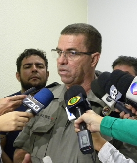 Coronel Alves apresentou diversas medidas para diminuir os casos de violência contra taxistas   Foto: Bruna Aidar