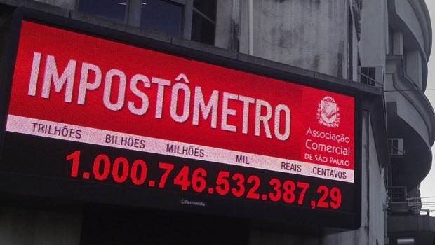Impostômetro é instalado no Centro de Goiânia