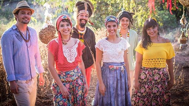 Grupo goiano Passarinhos do Cerrado | Foto:  Rafaella Pessoa