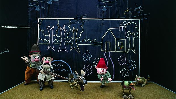 """O espetáculo """"Pedro e o Lobo"""" é do grupo mineiro Giramundo, que compõe o Museu, Teatro, Escola, Estúdio de Animação e Produtos, que é referência na área"""