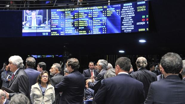 Senado rejeita indicação de Guilherme Patriota para a OEA